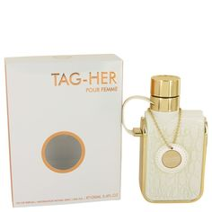 New #Fragrance #Perfume #Scent on #Sale Armaf Tag Her by Armaf 3.4 oz / 100 ml EDP Spray - This is a sweet flowery bouquet of notes with a powdery side as it settles in. A strong and empowering perfume with a great silage. It will stick with you and inspire you for hours.. Buy now at http://www.yourhotperfume.com/tag-her-by-armaf-3-4-oz-100-ml-edp-spray.html