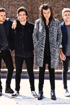One Direction. Liam Payne, Louis Tomlinson, Harry Styles and Niall Horan