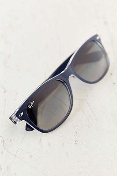 Ray-Ban Matte Blue New Wayfarer Sunglasses