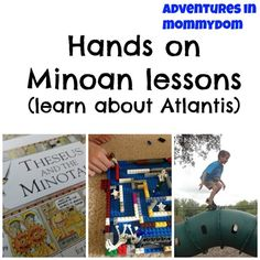 Hands on minoan lessons via Albano Albano Adventures in Mommydom My Father's World, Story Of The World, Ancient History, Greek History, Ancient Art, Ancient Greece For Kids, The Magicians Nephew, Tapestry Of Grace, History For Kids