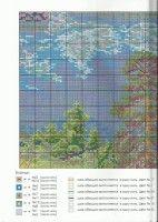 "Gallery.ru / TATO4KA6 - Альбом ""21"" Cross Stitch, Diagram, Map, World, Gallery, Landscape, Punto De Cruz, Scenery, Roof Rack"