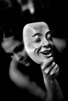 "Oscar Wilde said:    ""Man is least himself when he talks in his own  person.  Give him a mask, and he will tell you the  truth."""