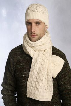 Sometimes it only takes a single fashion accessory to pull an entire outfit together. This cable knit scarf is that accessory. It features a simple design that works well with virtually any winter ens