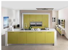 Cuisine vert olive