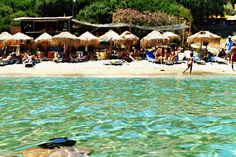 The beach of Piso Gialia, Andros,Cyclades,Greece
