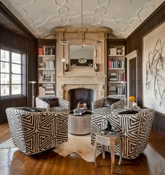 Study — Candace Barnes San Francisco Design, Chambord, Pent House, Study, Room, Chairs, Live, Home Decor, Instagram