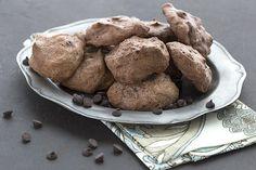 Keto Double Chocolate Meringue Cookies