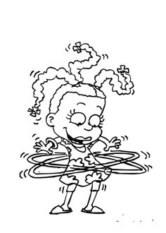 Dibujos para imprimir Los Rugrats. http://www.colorear.pequescuela.com/colorear-pintar-imprimir-rugrats8.html