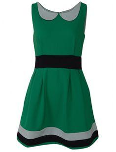 ALICE dress green