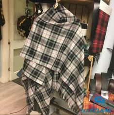 Made from Lochcarron's Reiver fabric which is one of the best made tartan fabrics you...