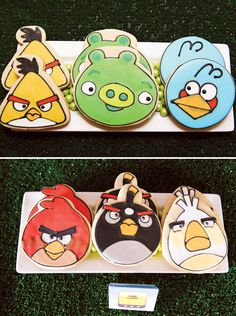 Angry Birds Inspired Party // Hostess with the Mostess®  Birthday party ideas