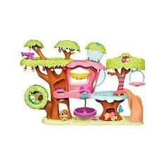 Littlest Pet Shop Treehouse Playset $27.97