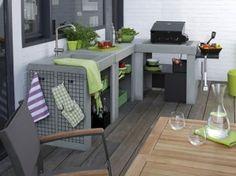 Pratique et esthétique : adoptez la cuisine d'extérieur !