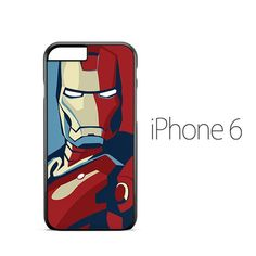 Iron Man Illustration iPhone 6 Case
