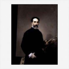 Francesco Hayez · Autoritratto · 1861 · Gallerie dell'Accademia · Venezia