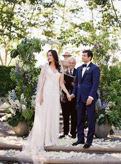 Colorful Beaulieu Garden Wedding - Real Weddings - Once Wed