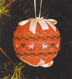 I want to try smocking Easter egg ornaments!