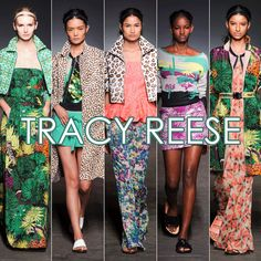 THE BEST OF NYFW: TRACY REESE MIXES PRINTS WITH PANACHE