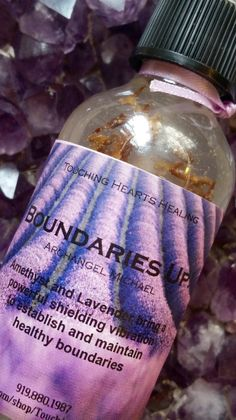 Boundaries Up! Ascension Spray Ascension sprays create a peaceful, sacred space around you, in your home or office, or anywhere you happen