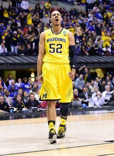 0defb2514066 Jordan Morgan did a stellar job filling in for injured Mitch McGary in  2013-14. University Of Michigan BasketballMichigan Wolverines ...