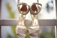 zapatos para novia color champagne