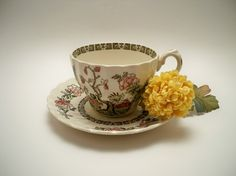Vintage Tea Cup And Saucer for Me