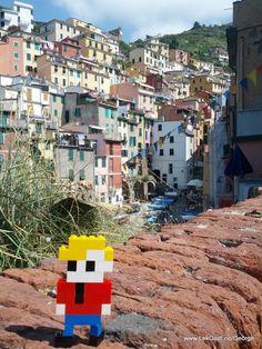 LEGO - Life of George in Cinque Terre, Liguria, Italy...