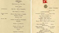 Rare #Titanic menus sell for $ 160,000 - www.finedininglovers.com/blog/curious-bites/rare-titanic-menus-sell-for-160-000/