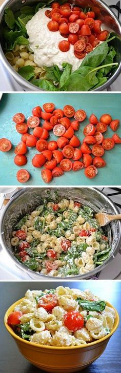 all recipes comfort food: Roasted Garlic Pasta Salad Alle Rezepte Komfort Essen: Gebratener Knoblauch Nudelsalat Summer Pasta Salad, Summer Salads, Pasta Salad Feta, Pasta Salat, Crab Salad, Avocado Salad, Vegetarian Recipes, Cooking Recipes, Healthy Recipes