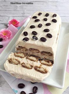 Semifreddo al caffè Great Desserts, Summer Desserts, No Bake Desserts, My Favorite Food, Favorite Recipes, Sorbet Ice Cream, Creme Dessert, White Cakes, Cheesecake Cupcakes