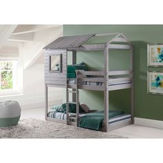 Found it at Wayfair - Twin Bunk Loft Bed