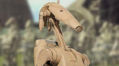 Battle droid Galactic Republic, Battle Droid, Star Wars, Star System, Disney, Dvd, Clone Wars, Minions, Action Figures