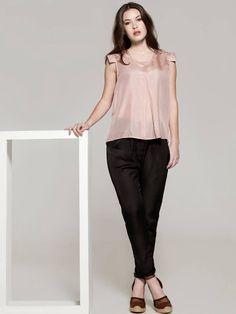 Blusa Iris Rosa  Pantalon Luk