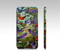 Beautiful Humming Birds Scene Samsung Galaxy5 Case