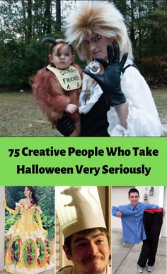 These people take Halloween very seriously. Scary Costumes, Halloween Costumes, Happy Halloween, Halloween Party, Halloween Stuff, Animal Makeup, Costume Works, Heath And Fitness, Oogie Boogie