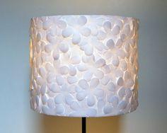 Punched flowers! - 8 unique DIY lamps