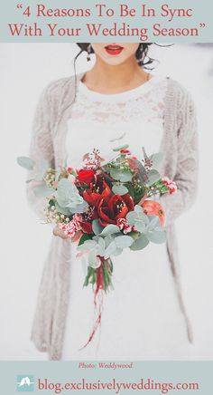 Wedding Colors | Winter Wedding - 4 Reasons To Be In Sync With Your Wedding Season