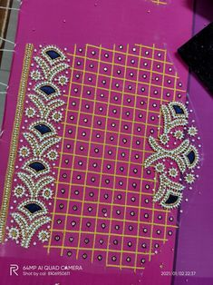 Maggam Works, Blouse Designs Silk, Cut Work, Hand Embroidery Designs, Work Blouse, Hand Designs, Sleeve Designs, Gold Jewelry, Fashion Jewelry