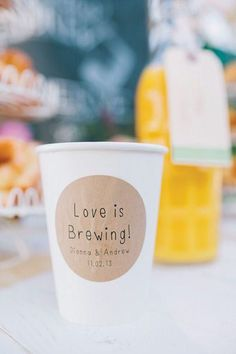 What's NOT to love about a boozy brunch wedding?