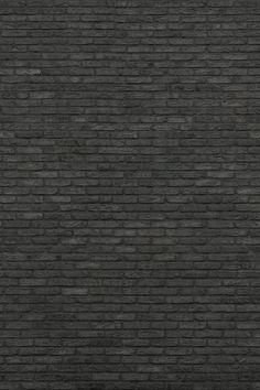 Black Brick Wall - texture by Thekapow on DeviantArt Stone Texture Wall, Brick Texture, Tiles Texture, Black Brick Wall, Brick And Wood, Brick And Stone, Brick Material, Visual Texture, Texture Mapping