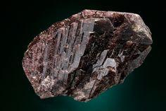 Axinit-(Fe) - Toroku Mine, Takachiho, Kreis Nishiusuki, Präfektur Miyazaki, Kyushu, Japan Size: 4.6 x 2.9 x 1.7 cm