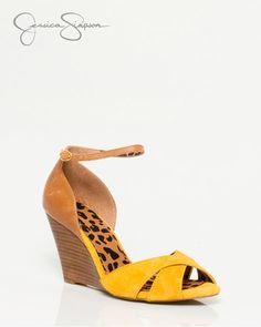 Jessica Simpson Leather Ankle Strap Sandal 90