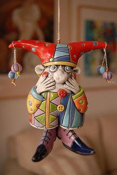 Jester Bell by natalyasots on Etsy, $135.00