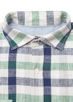 Straight-fit check shirt #SS13 #Men #HebyMango