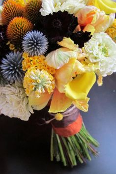 by organic elements in san diego - LOVE THIS BOUQUET!