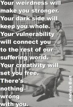 via   creative original confident