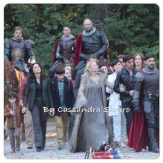 "Raphael, Lana, Jared, Josh, Ginnifer, Jennifer, Colin and Liam - Behind the scenes - 5 * 1 ""Dark Swan"" - 14 July 2015"