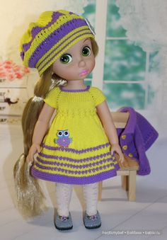 i love this outfit for my Rapunzel doll