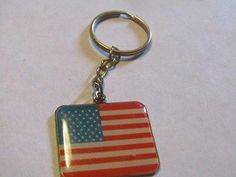 Veterans Of Foreign Wars Of The United States Flag Key Chain USA