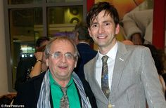 #DavidTennant Daily Photo!  David with Seventh Doctor Sylvester McCoy  #DoctorWho